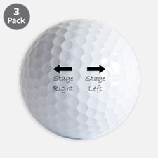 Cool Actress Golf Ball