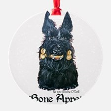 Scottish Bone Appetit Terrier Ornament