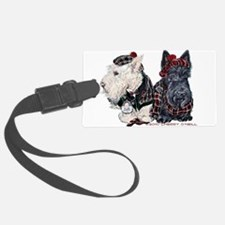 Scottish Highland Terriers Luggage Tag
