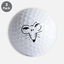 Rat Face Golf Ball