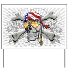 American Pirate Yard Sign