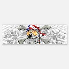 American Pirate Car Car Sticker
