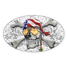 American Pirate Decal