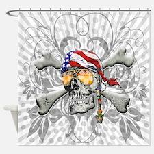American Pirate Shower Curtain