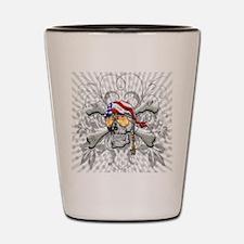 American Pirate Shot Glass