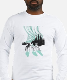 Siberian aurora Long Sleeve T-Shirt