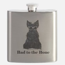 Scottie Bad to the Bone Flask