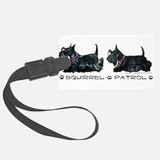 Squirrel Patrol 19x8 trans.png Luggage Tag