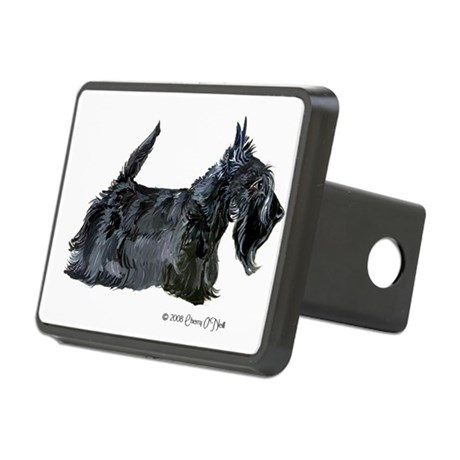 2008 October Scottie.png Rectangular Hitch Cover