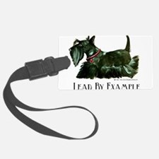 3-Lead by example flat.png Luggage Tag