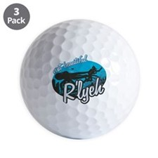 Call of Cthulhu - Visit Beautiful R'lyeh Golf Ball