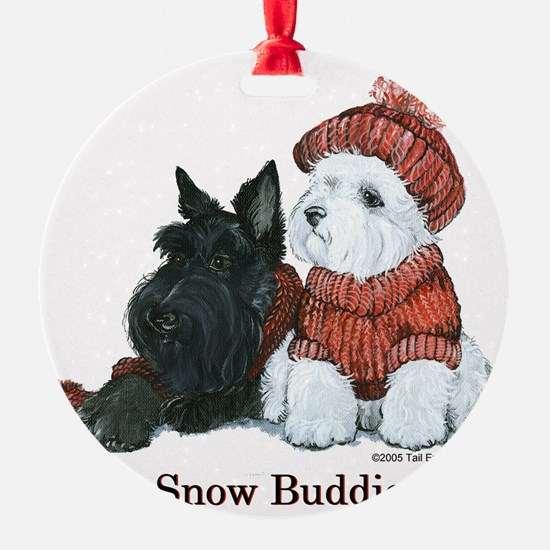 Snow Buddies 8x8.png Ornament
