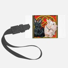 Celtic square 337 flat.png Luggage Tag