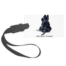 Best Friend 11x11.png Luggage Tag