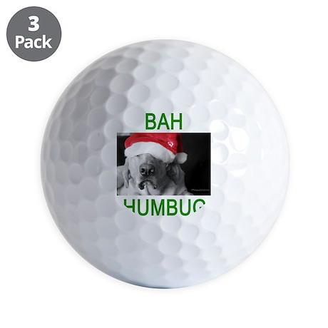 Bah Humbug Golf Balls