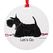 Scottie Let's Go! Ornament