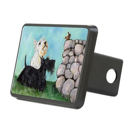 Scotties Wren 9.5x7.png Rectangular Hitch Cover