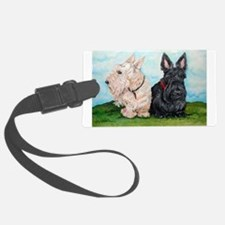 Scottish Terrier Companions Luggage Tag