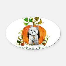 2007 pumpkin westie mug NEW copy.png Oval Car Magn