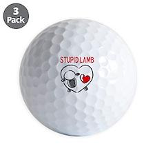 Stupid Lamb Golf Ball