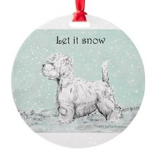 Let it snow 10x10.png Ornament