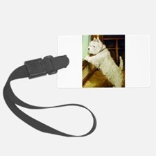 waiting squared.png Luggage Tag