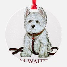 Westie waiting 9x9 2006.png Ornament