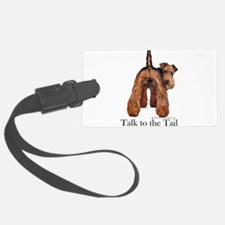 Airedale Terrier Talk Luggage Tag