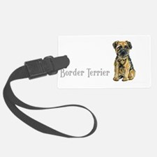Border Terrier white mug.png Luggage Tag