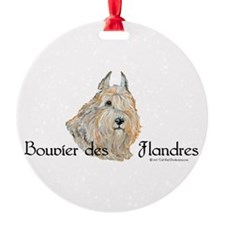 Bouvier Sweetie Ornament