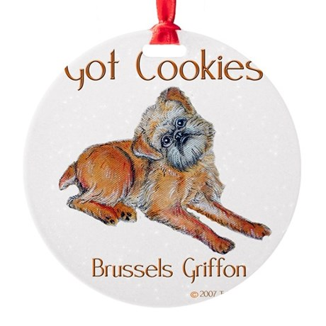 Got Cookies mug.png Round Ornament