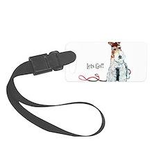 Fox Terrier Walk Luggage Tag