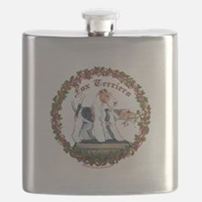fox squre with vine newest.png Flask
