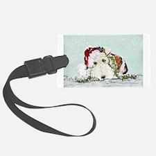 fox Santa card.png Luggage Tag