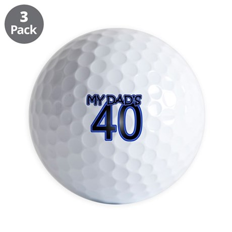 Dad's Forty Golf Balls