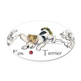 Wire fox terrier Car Magnets