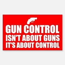 Gun Control 3 Decal