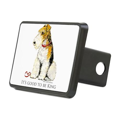 Fox Terrier Rectangular Hitch Cover
