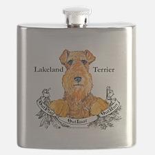 Lakeland Terrier.png Flask
