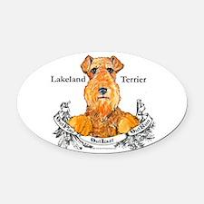 Lakeland Terrier.png Oval Car Magnet
