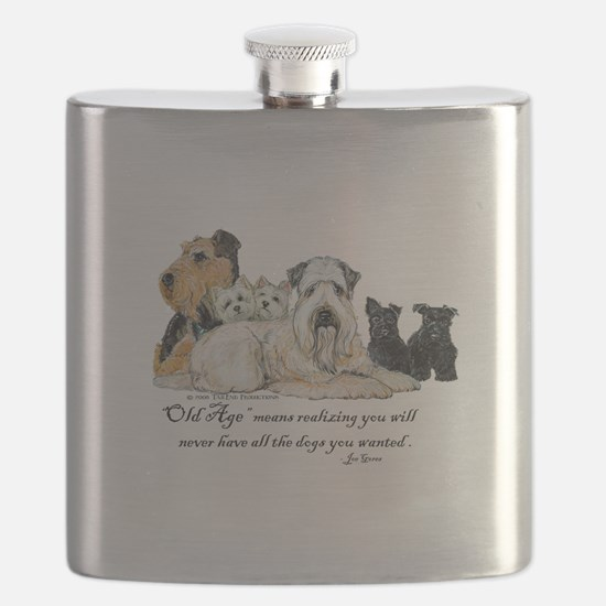 Love Dogs Flask