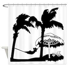 Lazy Dazy Shower Curtain