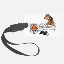 Welsh Terrier Halloween Luggage Tag