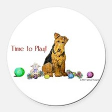Time to Play 2007.png Round Car Magnet