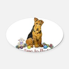 Time to Play 2007.png Oval Car Magnet