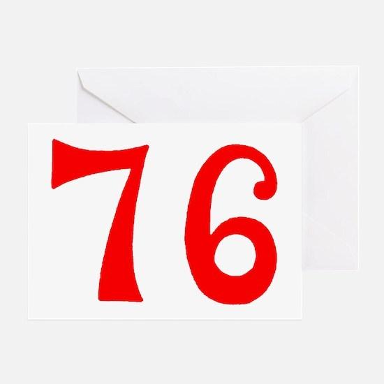 SPIRIT OF 76 NUMBERS™ Greeting Card