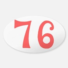 SPIRIT OF 76 NUMBERS™ Sticker (Oval)