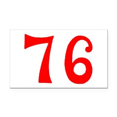 SPIRIT OF 76 NUMBERS™ Rectangle Car Magnet