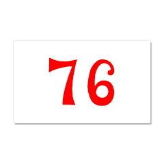 SPIRIT OF 76 NUMBERS™ Car Magnet 20 x 12