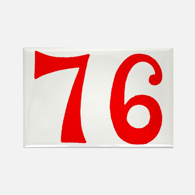 SPIRIT OF 76 NUMBERS™ Rectangle Magnet